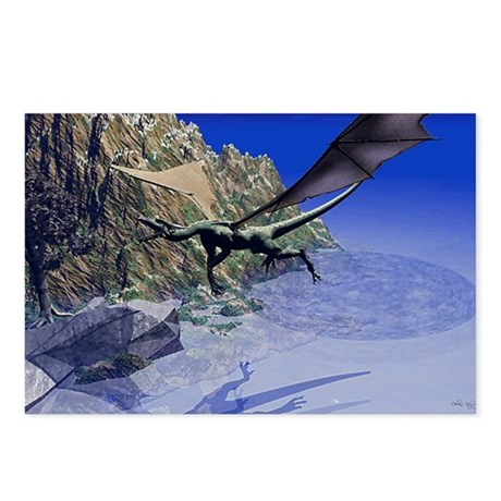 Flying Dragon Postcards (Package of 8)