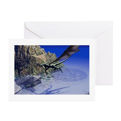 Flying Dragon Greeting Cards (Pk of 20)