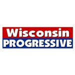 Wisconsin Progressive Bumper Sticker