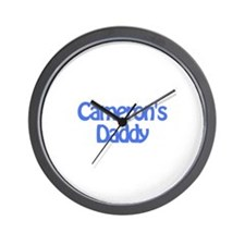 Cameron's Daddy Wall Clock