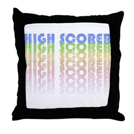 High Scorer Throw Pillow