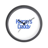 Kieran's Daddy Wall Clock