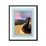 Annunciation - 9x12 Framed Print