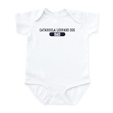 Catahoula Leopard Dog Dad Onesie
