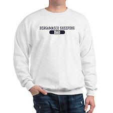 Bergamasco Sheepdog Dad Sweatshirt
