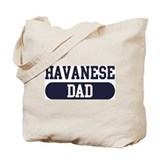 Havanese Dad Tote Bag