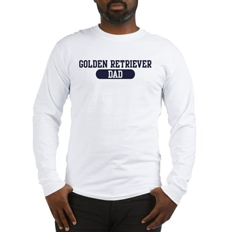 Golden Retriever Dad Long Sleeve T-Shirt