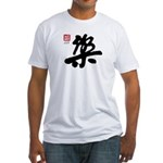 Kanji Joy Fitted T-Shirt