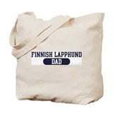 Finnish Lapphund Dad Tote Bag