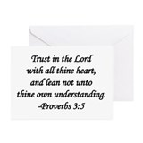 """Trust in the Lord"" Greeting Cards (Pk of 10)"