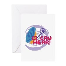 Unique C.a Greeting Cards (Pk of 10)
