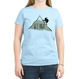 Get High: Mountain Climbing T-Shirt