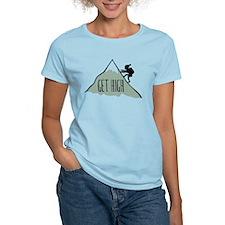 Get High: Mountain Climbing T-Shirt