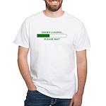 DISHES LOADING... White T-Shirt