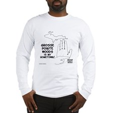 Grosse Pointe Woods Long Sleeve T-Shirt