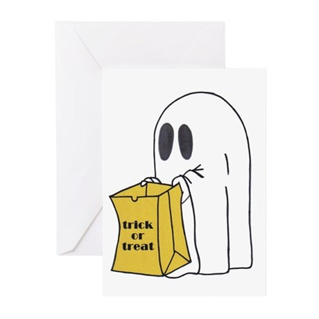 Trick or Treat Ghost Greeting Cards (Pk of 20)