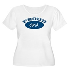 Proud Oma (blue) T-Shirt