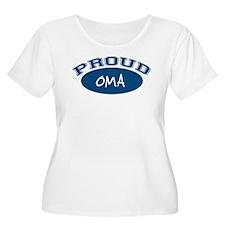 Proud Oma (blue) T-Shirt