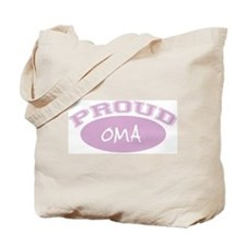 Proud Oma (pink) Tote Bag