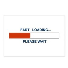 FART LOADING... Postcards (Package of 8)
