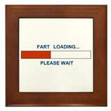 FART LOADING... Framed Tile