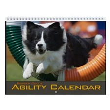 Border Collie Agility Wall Calendar IV