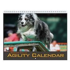 Border Collie Agility Wall Calendar III