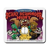 Garfield's Scary Scavenger Hunt Mousepad
