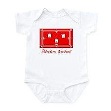 Aberdeen Scotland Flag Infant Bodysuit
