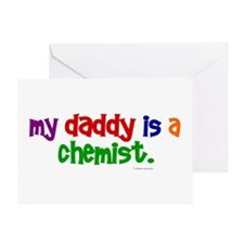 My Daddy Is A Chemist (PRIMARY) Greeting Card