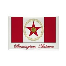 Birmingham AL Flag Rectangle Magnet (10 pack)
