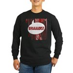 Bloody Brains Long Sleeve Dark T-Shirt
