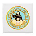 Philadelphia Homicide Divisio Tile Coaster