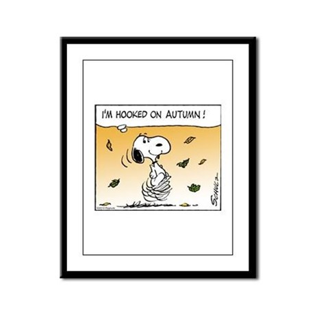 Autumn Addiction Framed Panel Print
