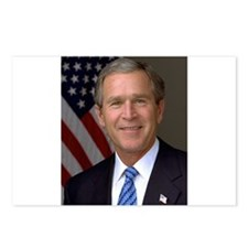 President George W. Bush Postcards (Package of 8)