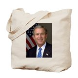President George W. Bush Tote Bag