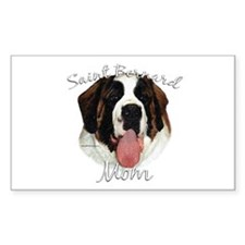 Saint Mom2 Rectangle Stickers