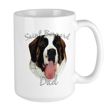 Saint Dad2 Large Mug