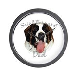 Saint Dad2 Wall Clock
