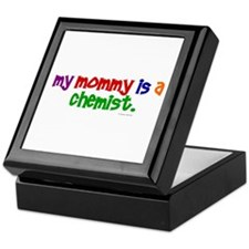 My Mommy Is A Chemist (PRIMARY) Keepsake Box