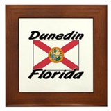 Dunedin Florida Framed Tile