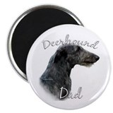 Deerhound Dad2 Magnet