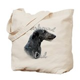 Deerhound Dad2 Tote Bag