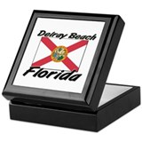 Delray Beach Florida Keepsake Box