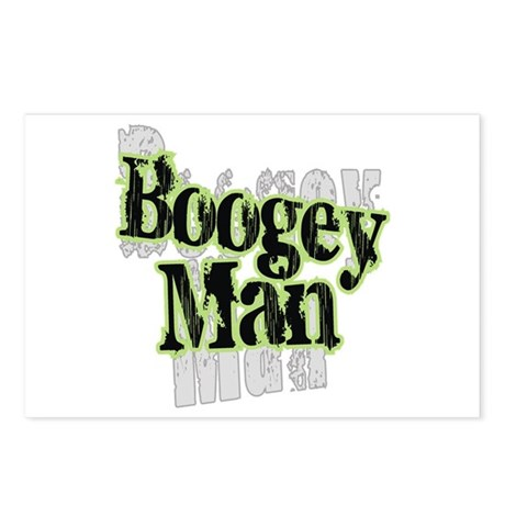 Boogey Man Postcards (Package of 8)