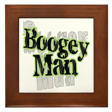 Boogey Man Framed Tile