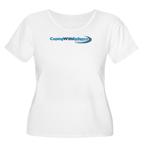 Coping With Epilepsy Women's Plus Size Scoop Neck