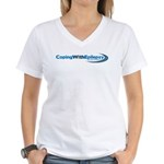 Coping With Epilepsy Women's V-Neck T-Shirt