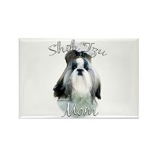 Shih Tzu Mom2 Rectangle Magnet