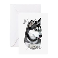 Husky Mom2 Greeting Card